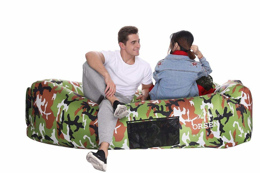 ORSEN Inflatable Lounger Air Sofa-2