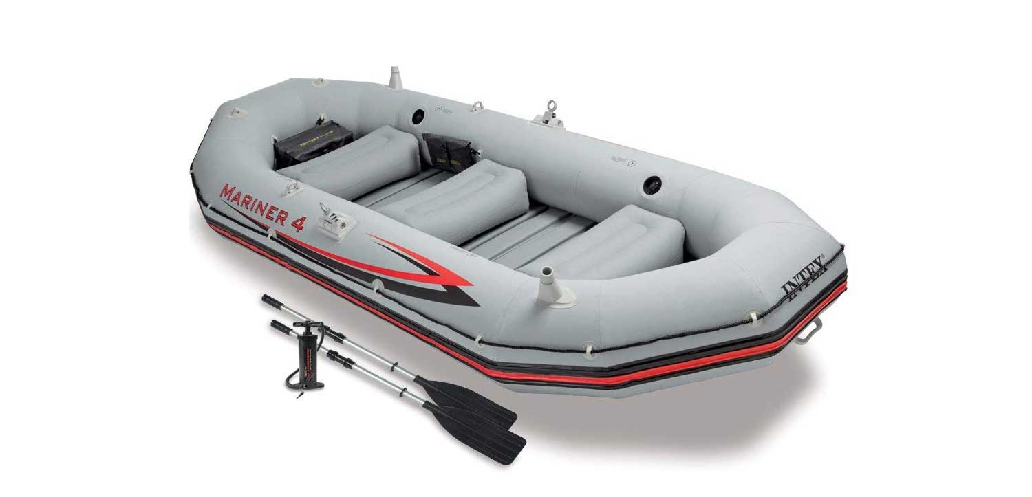 Intex Mariner 4 Inflatable Boat Review right now