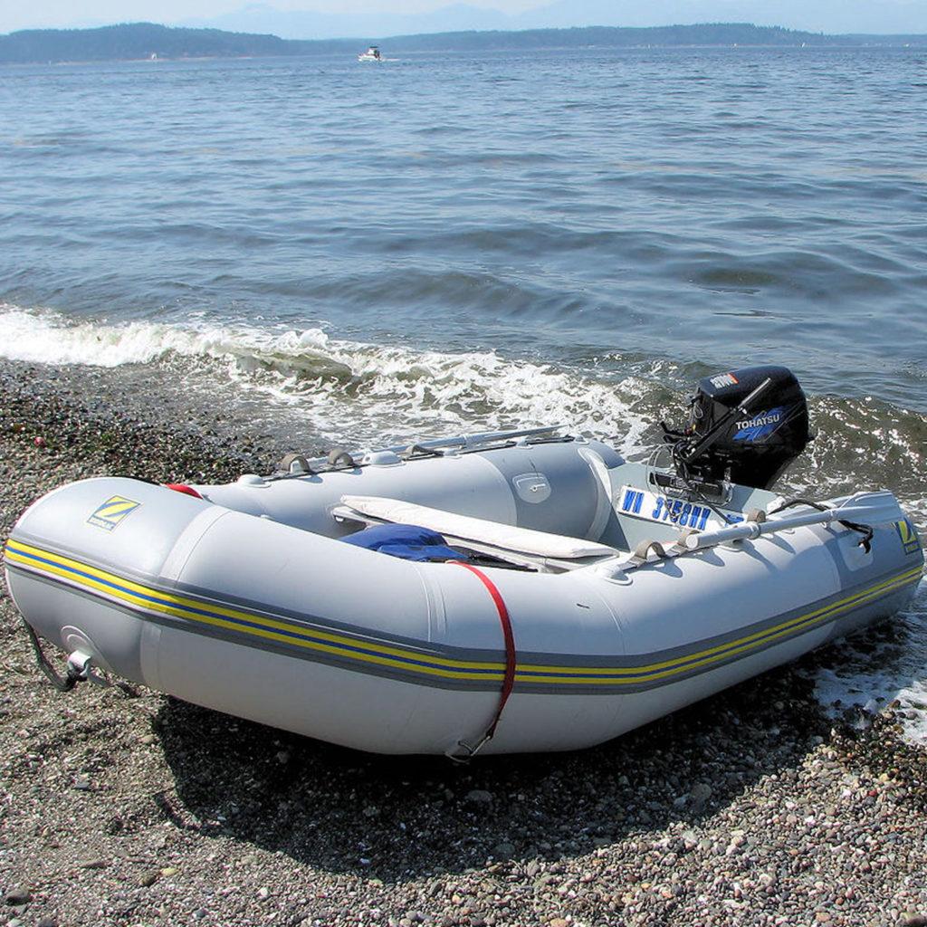 Zodiac Pro 6.5 rib inflatable boat
