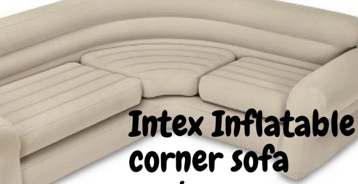 intex inflatable corner air sofa