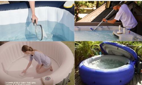 Goplus Inflatable Hot Tub