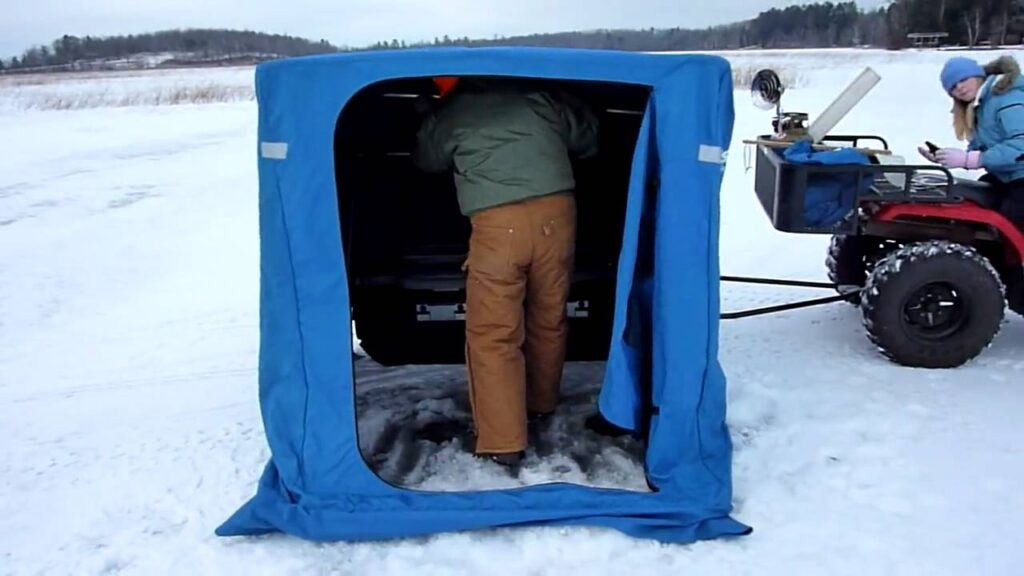 Best Pop Up Ice Fishing Shelter