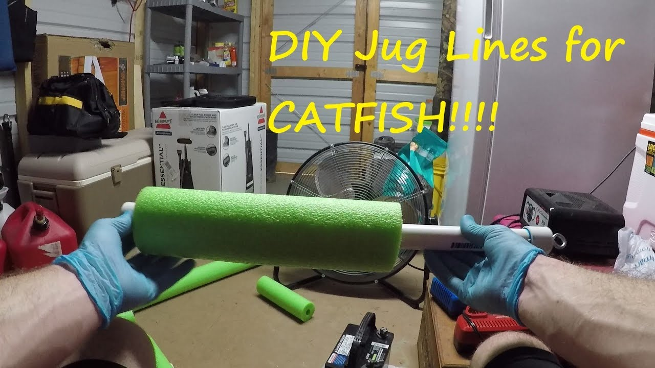 how to make juglines for catfishing