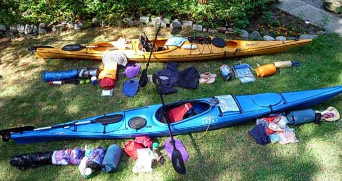 How to Pack a Kayak for Overnight Trips